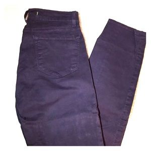 J Brand Skinny Jeans Aubergine Color